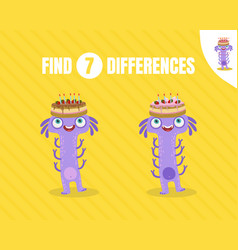 Simple game find differences vector