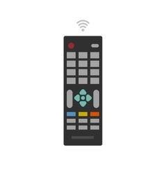 Remote control from TV device icon vector image