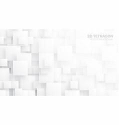 3d tetragons conceptual abstract background vector