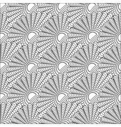A pattern of lines seamless Doodle vector image vector image