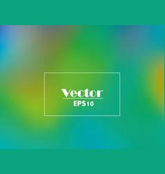 Abstract gradient in blue-green tones vector