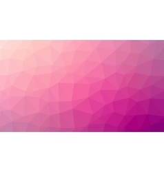 Abstract red gradient lowploly of many vector