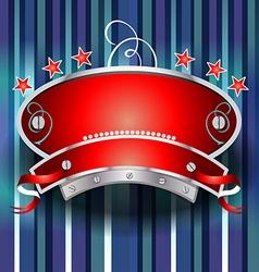 Casino emblem design vector image