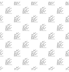 chart pattern seamless vector image