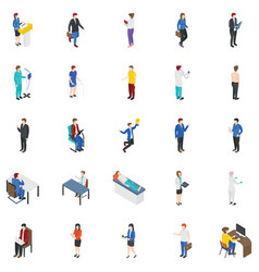 Professional people characters bundle vector