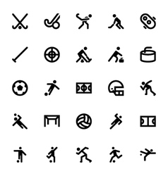 Sports and Games Icons 10 vector