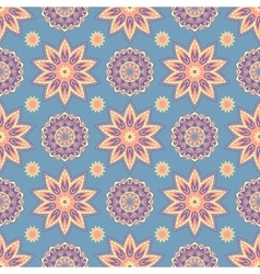 Ethnic floral seamless pattern3 vector image