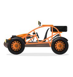 dune buggy car design element vector image