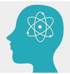 student profile design vector image