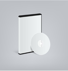 DVD blank vector image