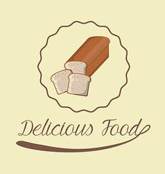 Food design over beige background vector