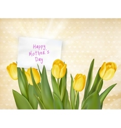 Happy Mothers day Typographical Background EPS 10 vector