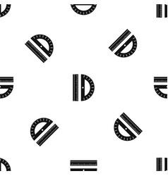 Line pattern seamless black vector