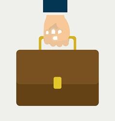 suitcase design vector image