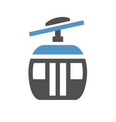 Urban transport icon vector
