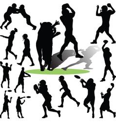 footballplayer vector image