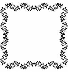 revival design frame vector image vector image
