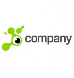eye photography logo vector image vector image