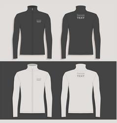 mens sport jacket vector image vector image