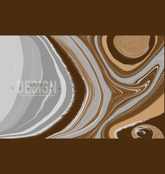 Abstract mixed gray brown and white colors vector
