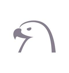 eagles-head vector image