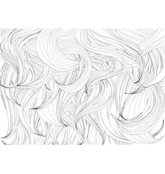 Hair background vector