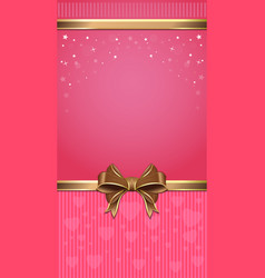 Pink festive background vector