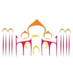 Temple symbol vector