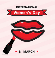 Women is day vector