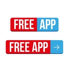 Free app download button vector