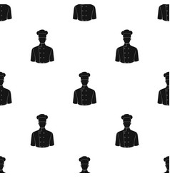 chefprofessions single icon in black style vector image
