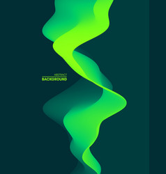 abstract wavy background for banner flyer cover vector image