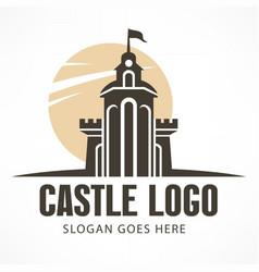 Castle logo vector