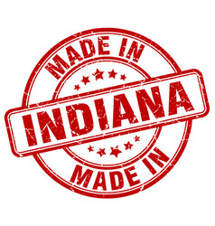 Made in indiana vector