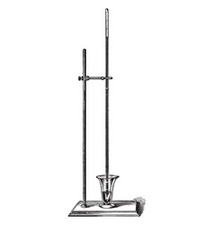Mercury barometer vintage vector