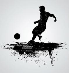 football player vector image