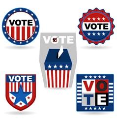 Election emblem vector
