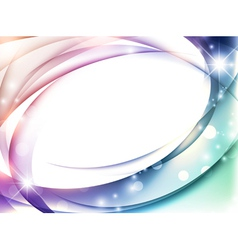 magic abstract multicolored background vector image vector image