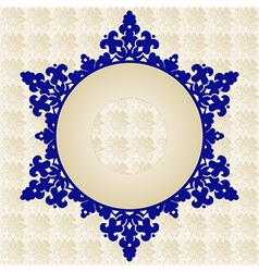 Antique ottoman turkish pattern design fourty one vector image