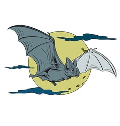 Bat2 vector image
