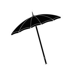 beach parasol icon vector image