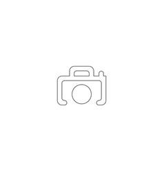 camera icon symbol sign vector image
