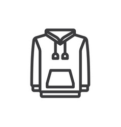 Hoodie icon vector