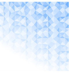 light blue polygon abstract background texture vector image