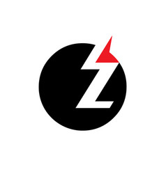 sign of the letter z vector image