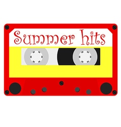 Summer hits vector image