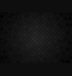 Tiled background in black tones vector
