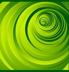 Abstract graphic element with concentric radial vector