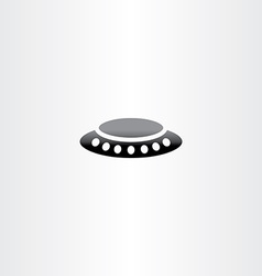 Alien ufo icon vector