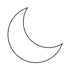 Half Moon Sun Drawing Vector Images 98